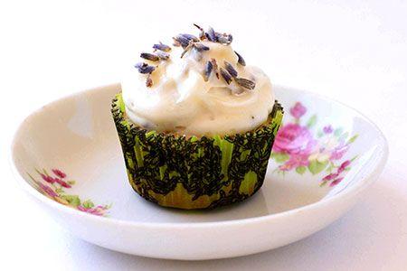 Green Tea and Lavender Cupcake Recipe