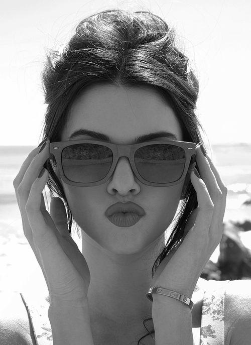 #Kendall jenner #shades #duckface