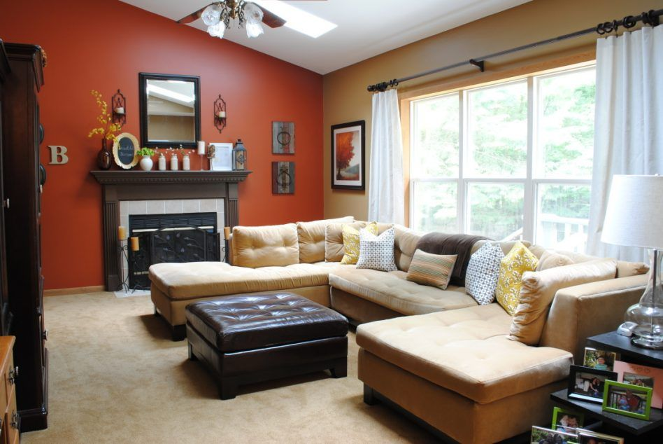 Furniture Best Color Paint Living Room Decorating Ideas For Small Home U Shaped Arrangement Ealing