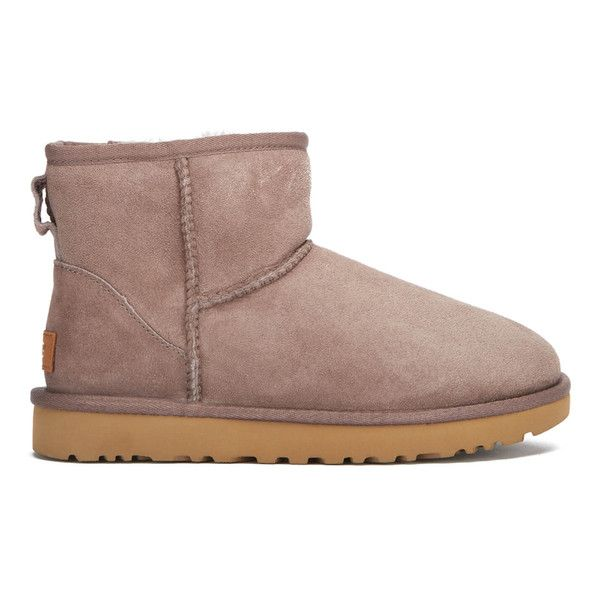 f9d32b93c5f UGG Women's Classic Mini II Sheepskin Boots ($165) ❤ liked on ...