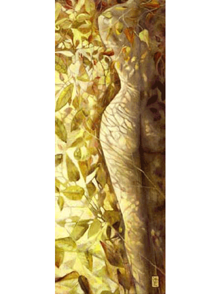 """Oil on Linen with a 3"""" deep stretcher - Original 18"""" x 48"""" ~ $5200.00 - Giclee on Canvas 11.25"""" x 30"""" - enhanced by the artist $650"""