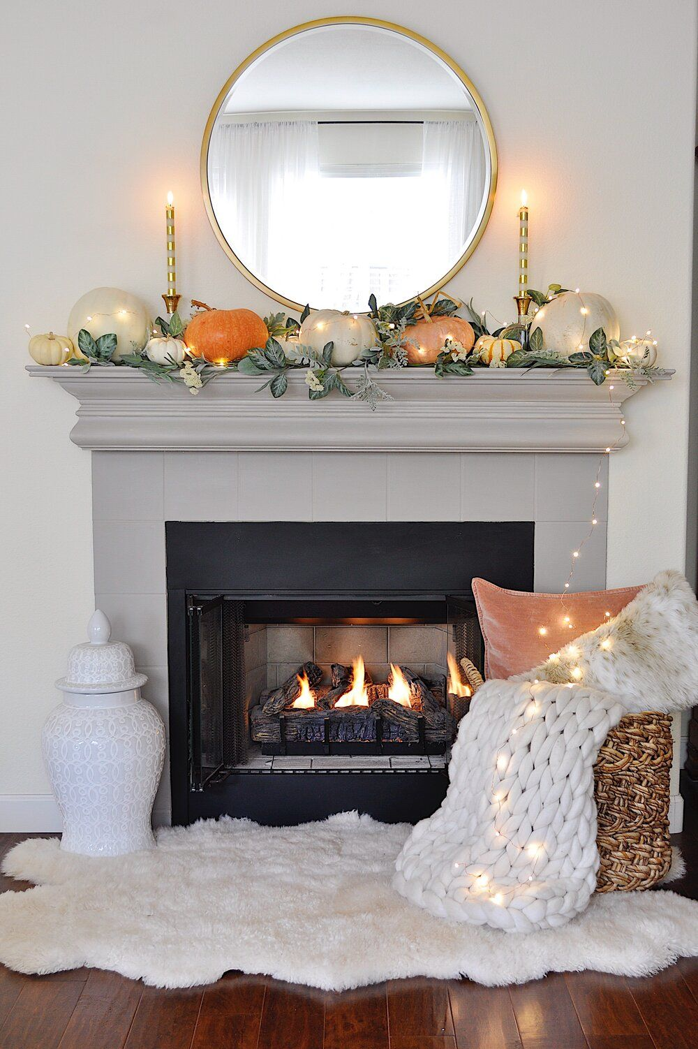 Photo of 5 Fabulous Fall Mantel Decorating Ideas — 2 Ladies & A Chair