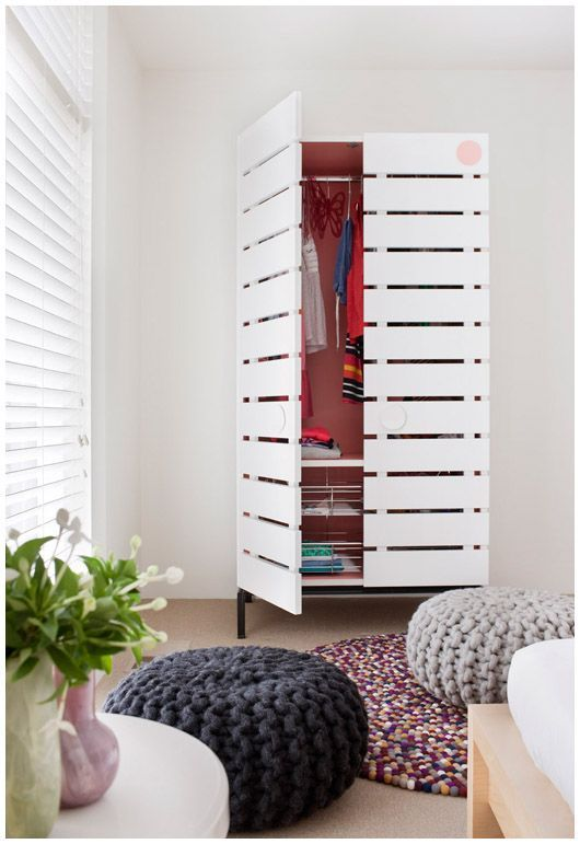 Armario de palets puedes montar una habitaci n completa for Armario habitacion nina