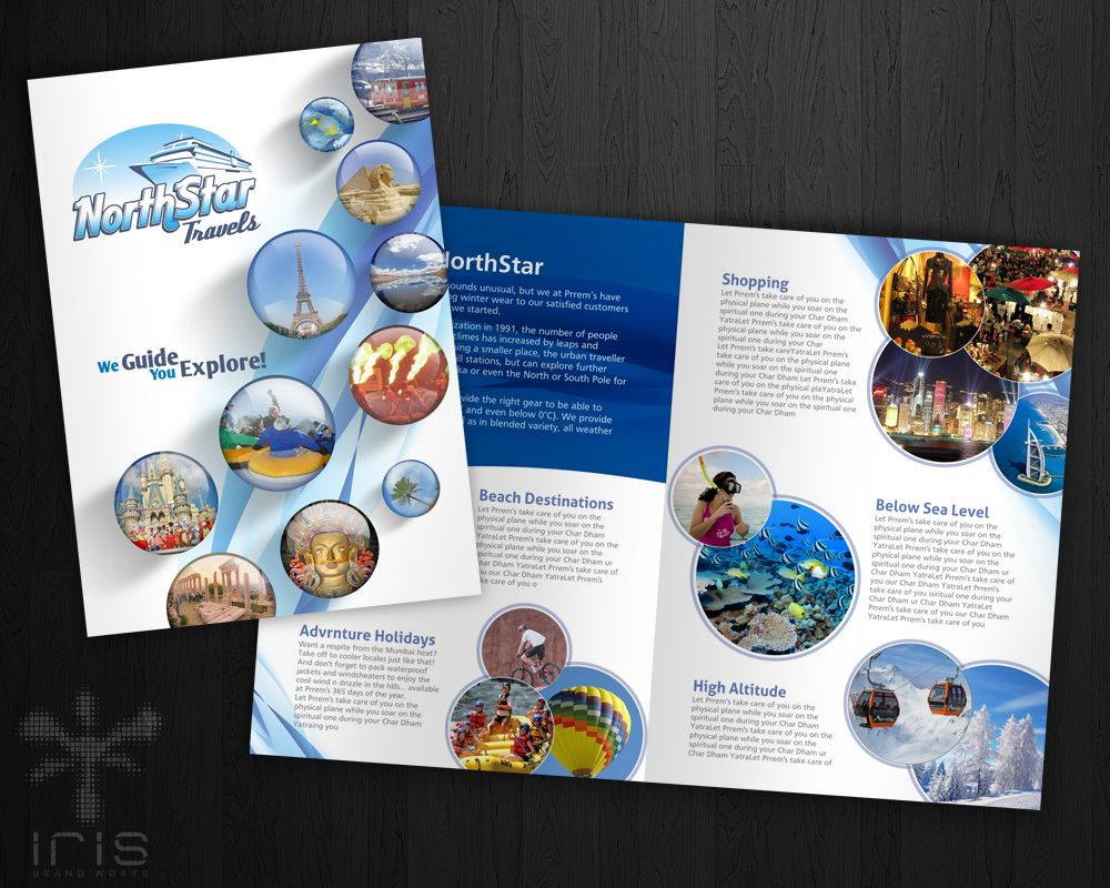 Brochure Design For A Travel Agency