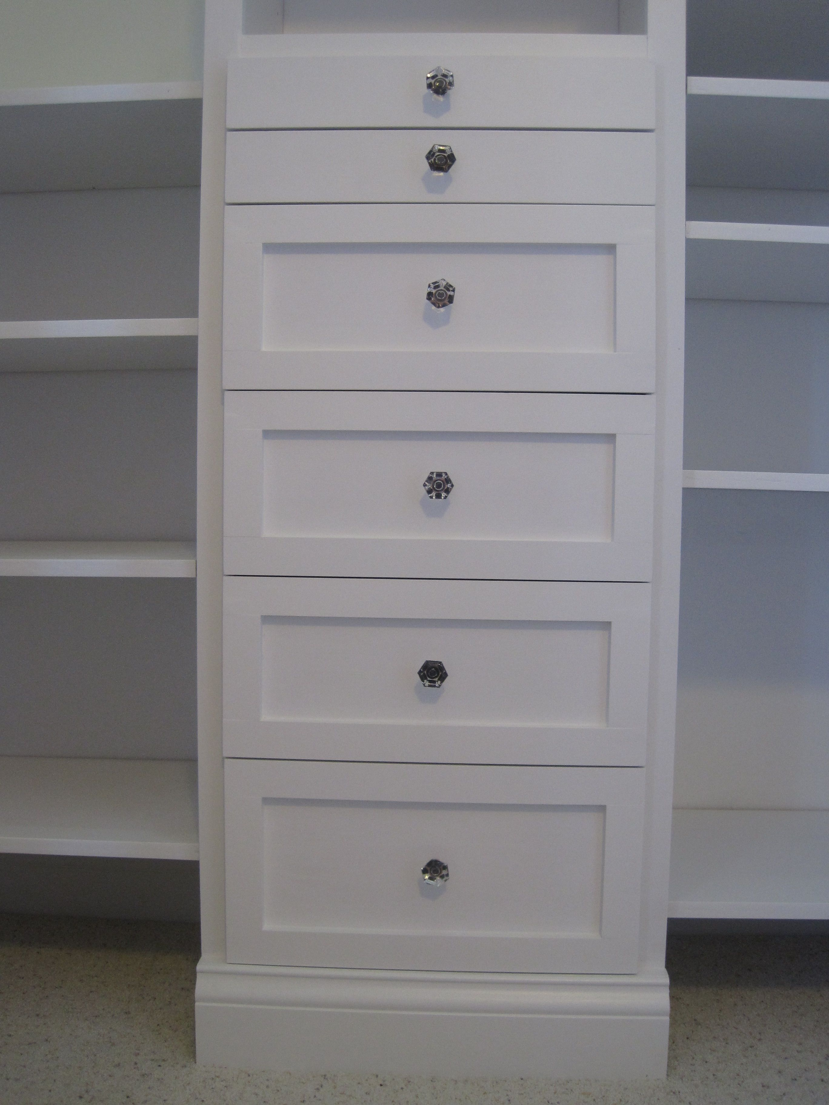How To Build A Closet Organizer The Reveal Pink Toes And Tools
