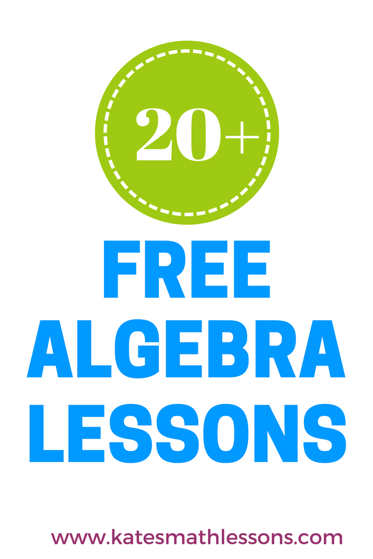 Looking for Algebra 1 resources? Check out this FREE secondary math ...