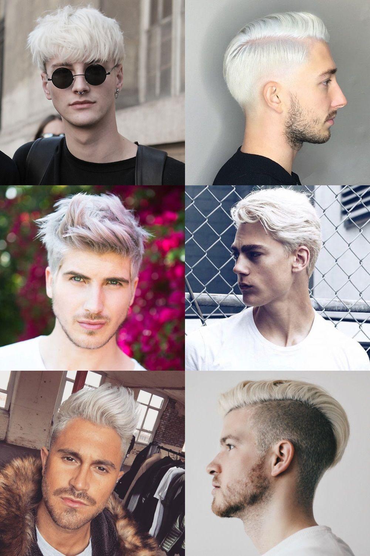 Bleached Hair For Men Mens Hairstyles Bleached Hair Hair Styles