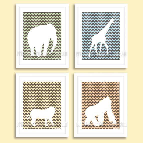Nursery art digital download nursery decor by printableproject, $5.00