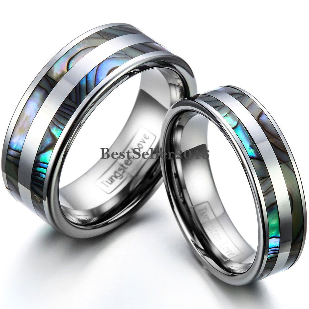 Love it Tungsten carbide wedding bands, Tungsten
