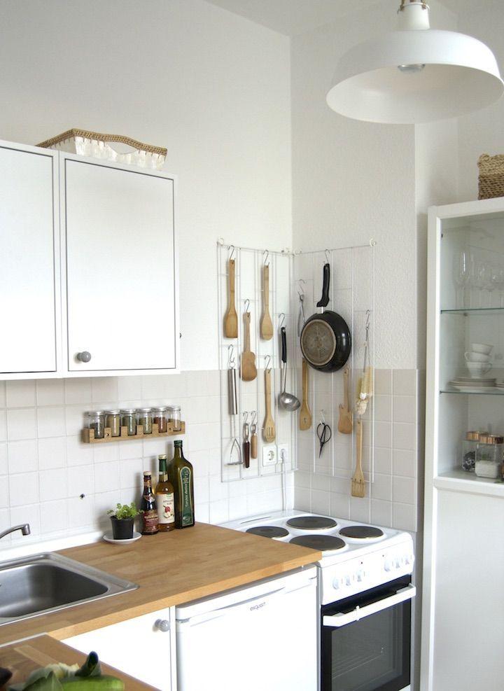 Ideen für kleine Räume kleine Küche Tricks für die Mini-Küche zum - lösungen für kleine küchen