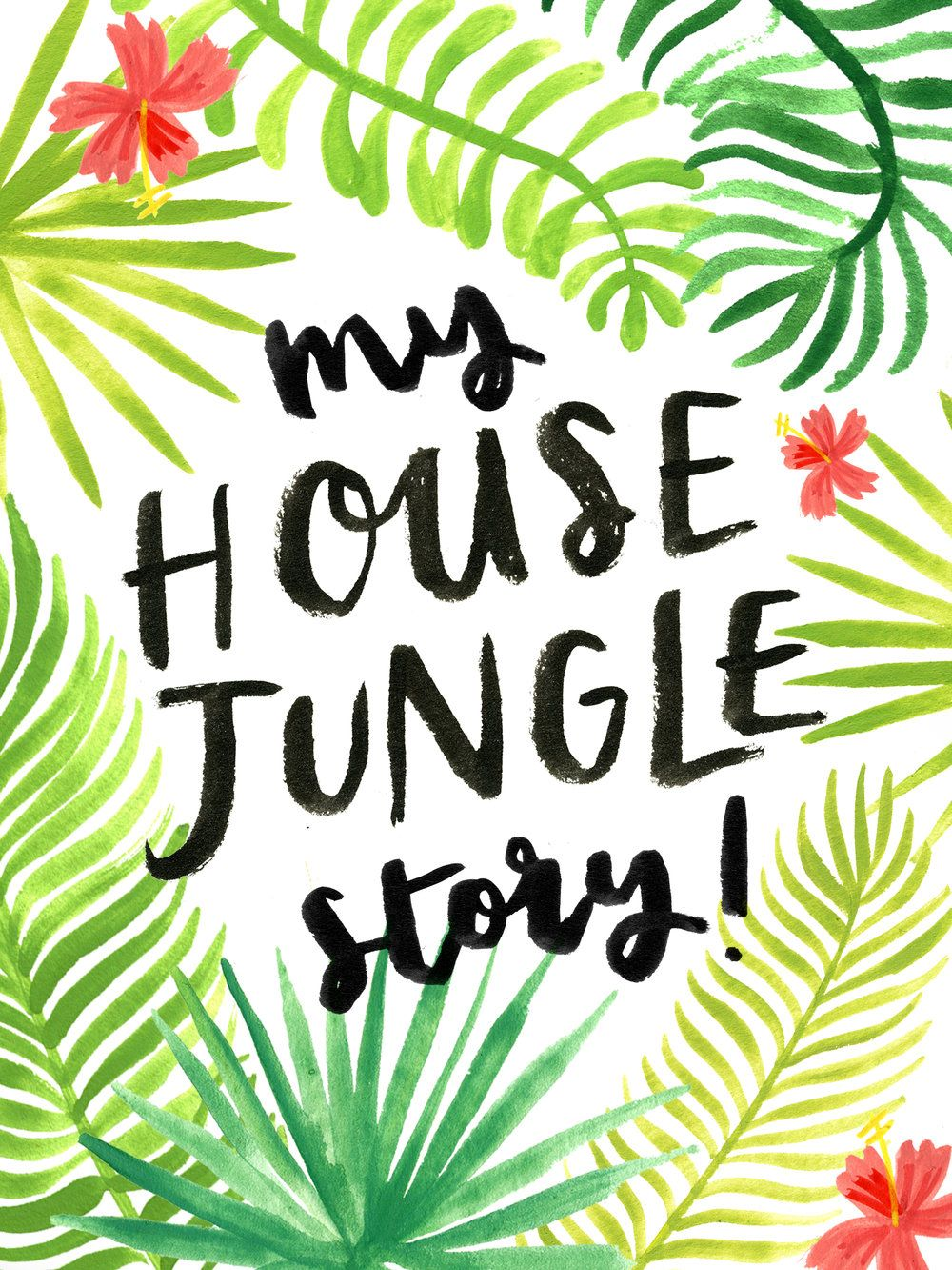 """I've shared bits and pieces of the origin of my book here and there in the  past, but today I wanted to write out the full """"story"""", for those of you  who don't know it, and as a little 'diary' of sorts! So, heres the story of  the creation of House Jungle from last year, until now."""