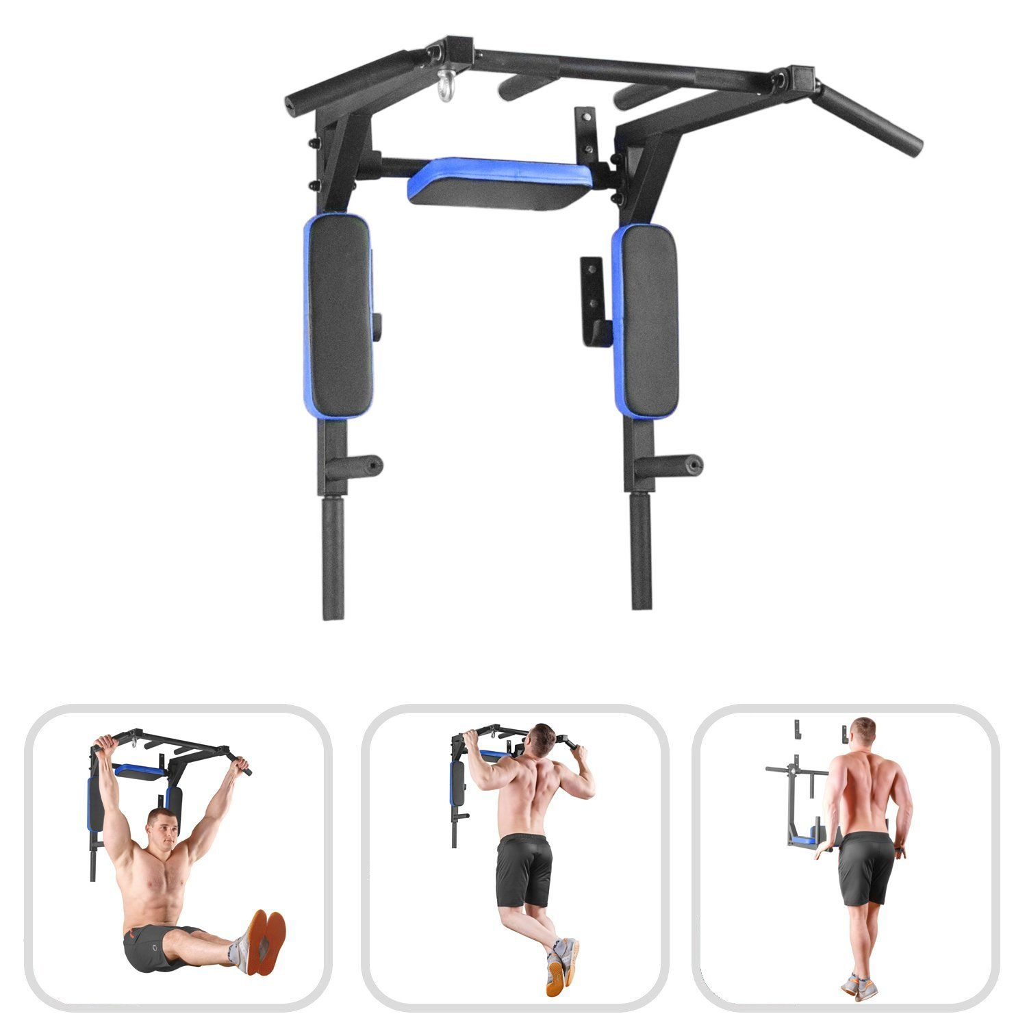 Training Pull Up Bar Portable Body Fitness Workout Home Gym Exercise Chin Up Bar