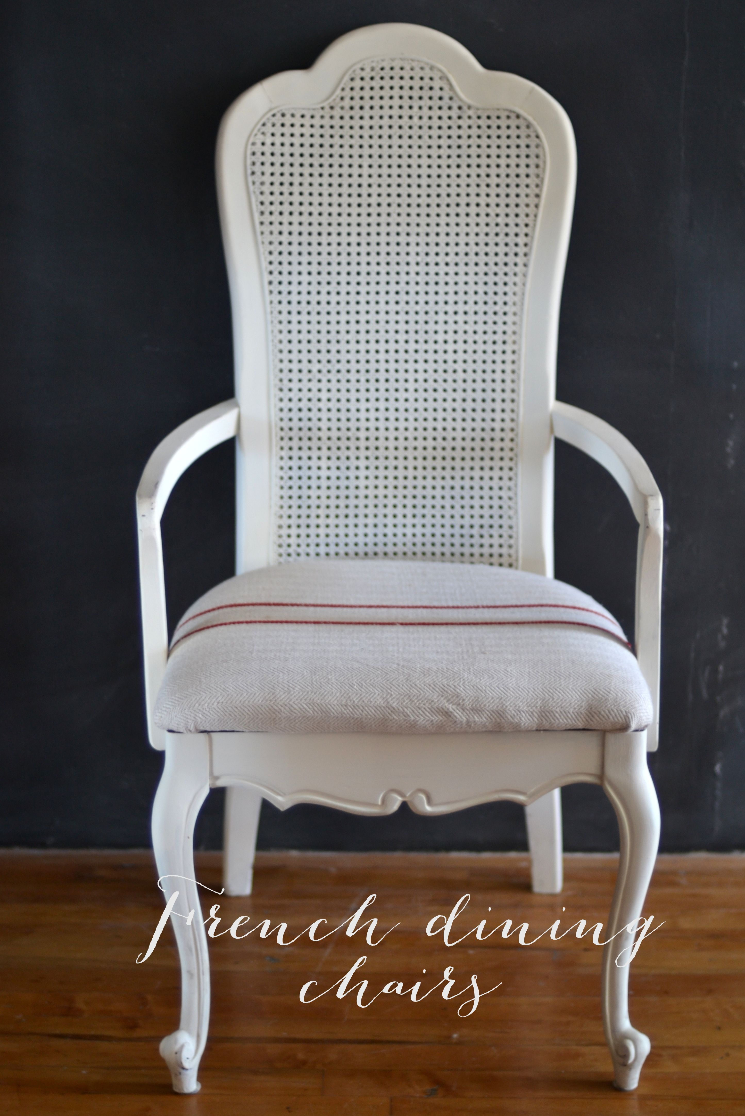 French Cane Dining Chair