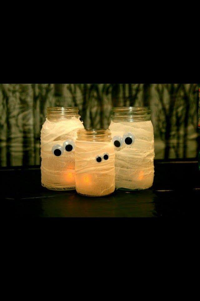 homemade halloween decorations pinterest - Google Search Halloween - homemade halloween decorations