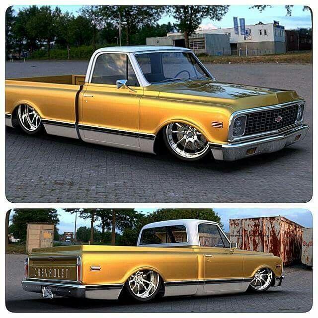 Golden C10 C10 Chevy Truck Chevy Trucks Chevrolet Trucks