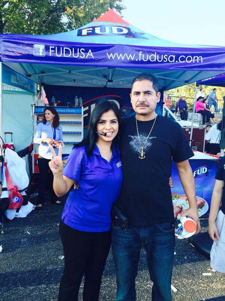 Pop Up Tent for FUD-USA. PromotionalDesignGroup.com