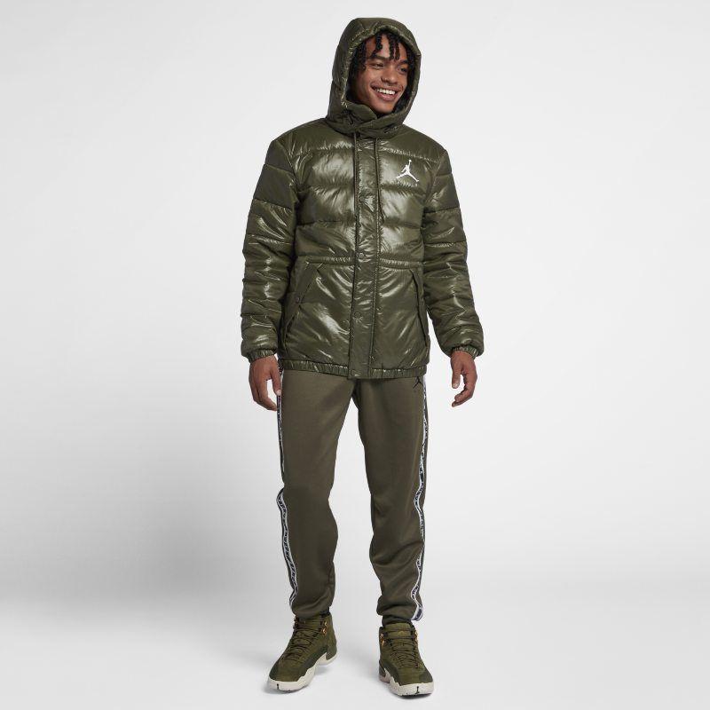 Jordan Jumpman Puffer Men's Jacket Green | Mens jackets