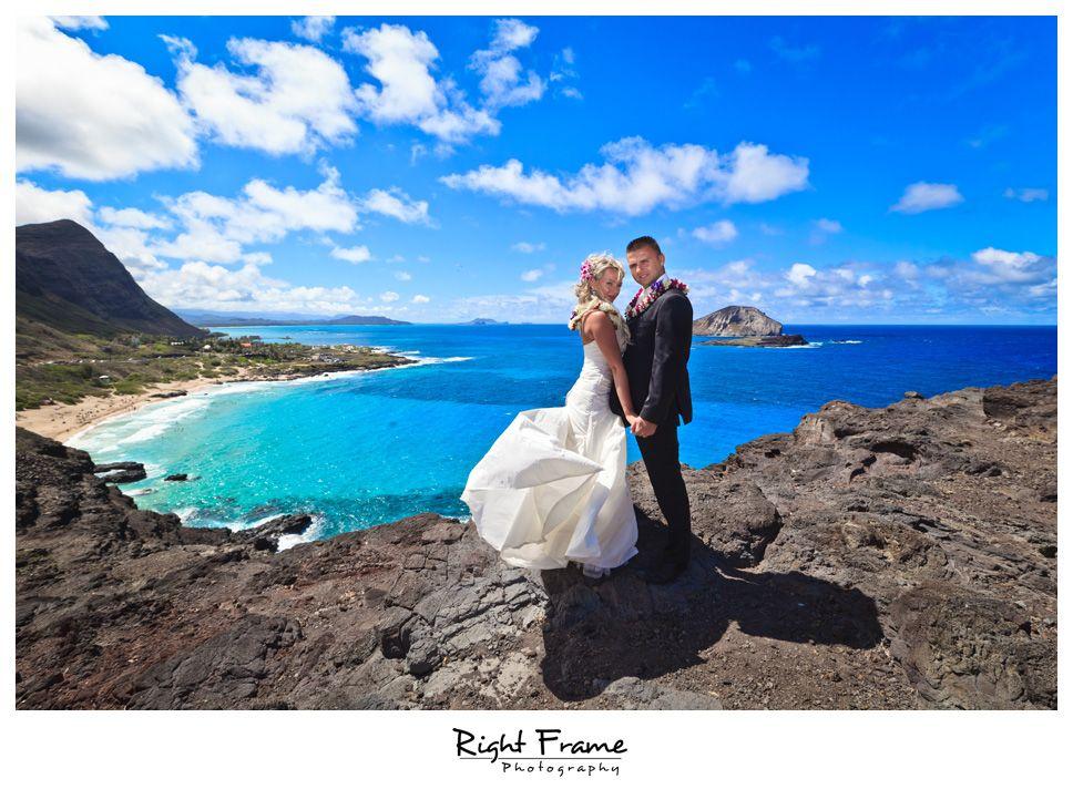Http Www Rightframe Destination Sunset Beach Wedding At Yokohama Oahu Hawaii Photographer Hawai