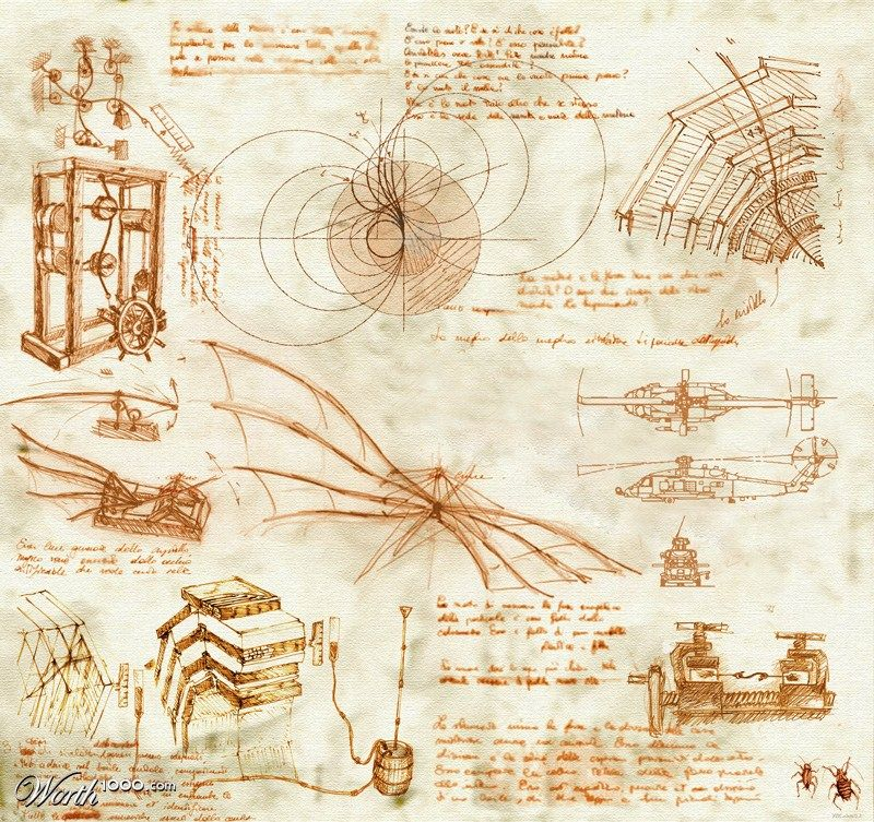 leonardo da vinci... | The Masters of Art | Pinterest | Design ...