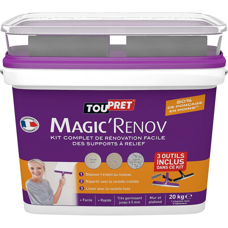 Resultat De Recherche D Images Pour Enduit Magic Renov Toupret Leroymerlin Enduit De Lissage Enduit Lissage