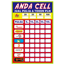 35+ Latest Contoh Banner Jual Pulsa Dan Token