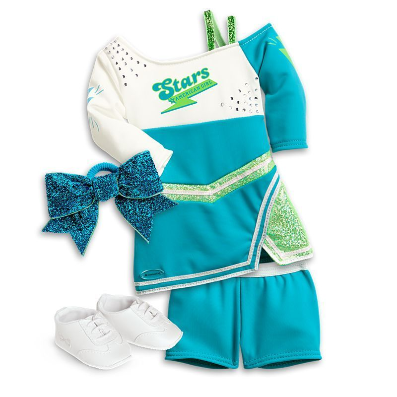 Competition Cheer Outfit for 18-inch Dolls #18inchcheerleaderclothes Competition Cheer Outfit for 18-inch Dolls | American Girl #americangirlhouse
