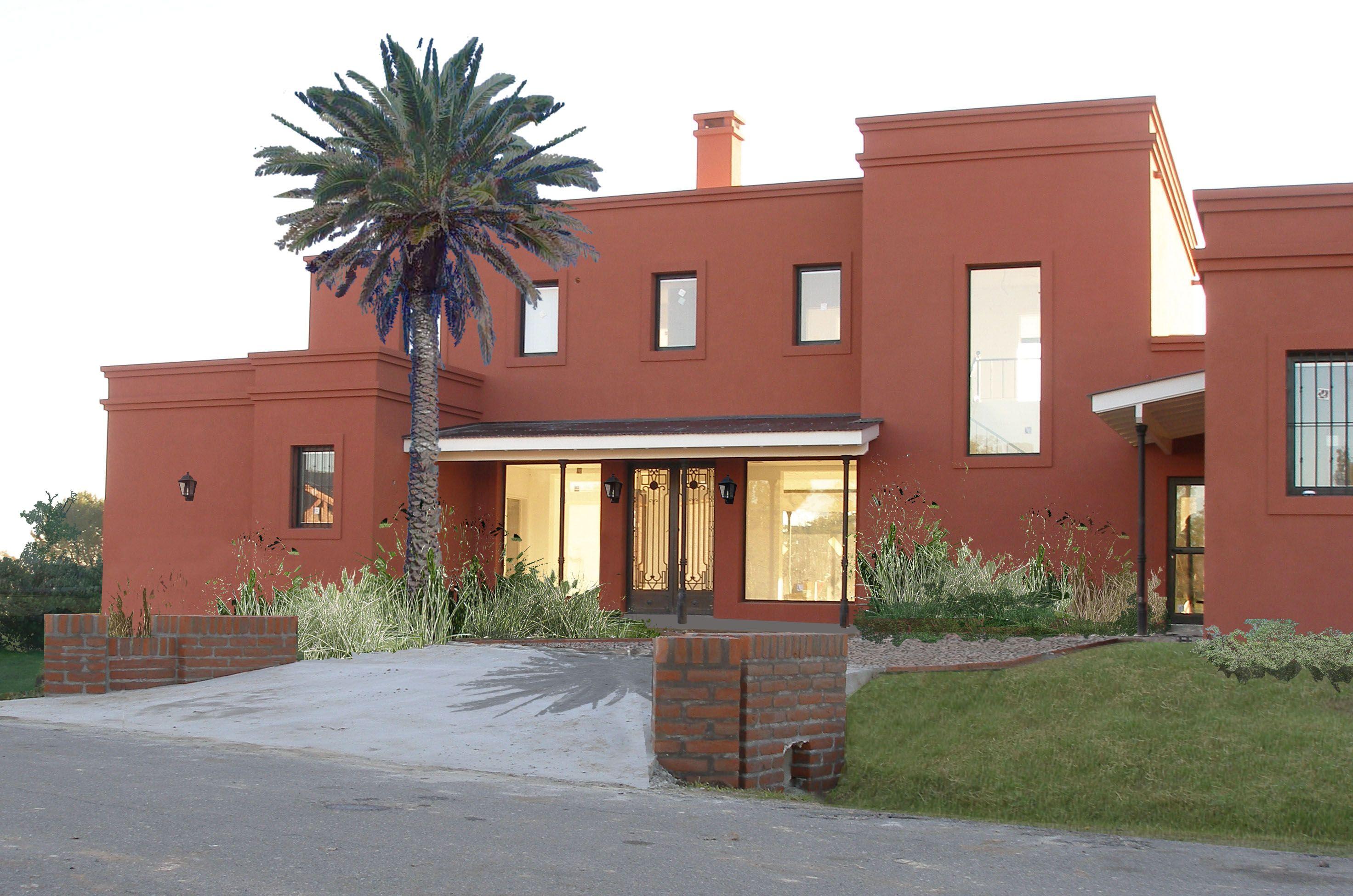 Casa de campo en haras san pablo concept home - Casa de revestimientos ...