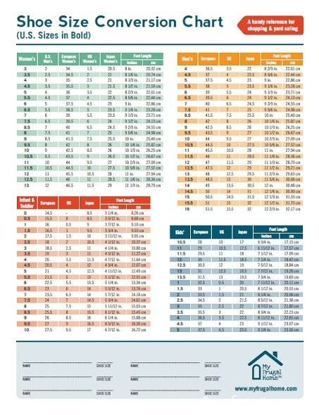 Take this shoe size conversion chart with you when yard sale also vans kids style for the kiddos pinterest rh