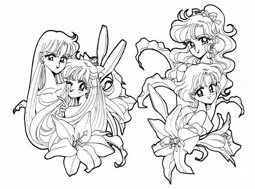 Naoko Takeuchi, Bishoujo Senshi Sailor Moon, Minako Aino, Makoto ...
