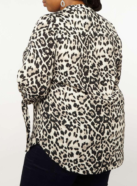 fe8b7122dccd Womens **Dp Curve Multi Coloured Leopard Print Shirt- Multi Colour ...