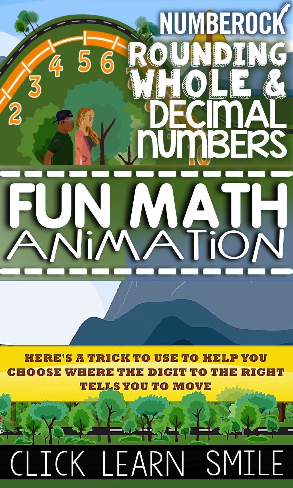 Rounding Decimals To The Nearest Tenth Song With Worksheet
