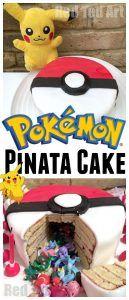 Photo of DIY Pokemon Cake Pinata – Red Ted Art's Blog
