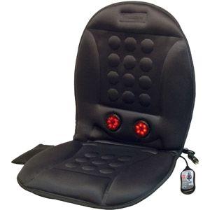 Wagan Infra Heat 12v Massage Cushion Walmart Com Massage Cushions Cushions Car Seat Cushion