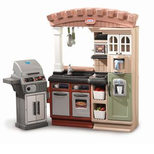 Grillin Grand Kitchen From Littletikes 179 99 Grand Kitchen Kids Kitchen Accessories Kids Kitchen