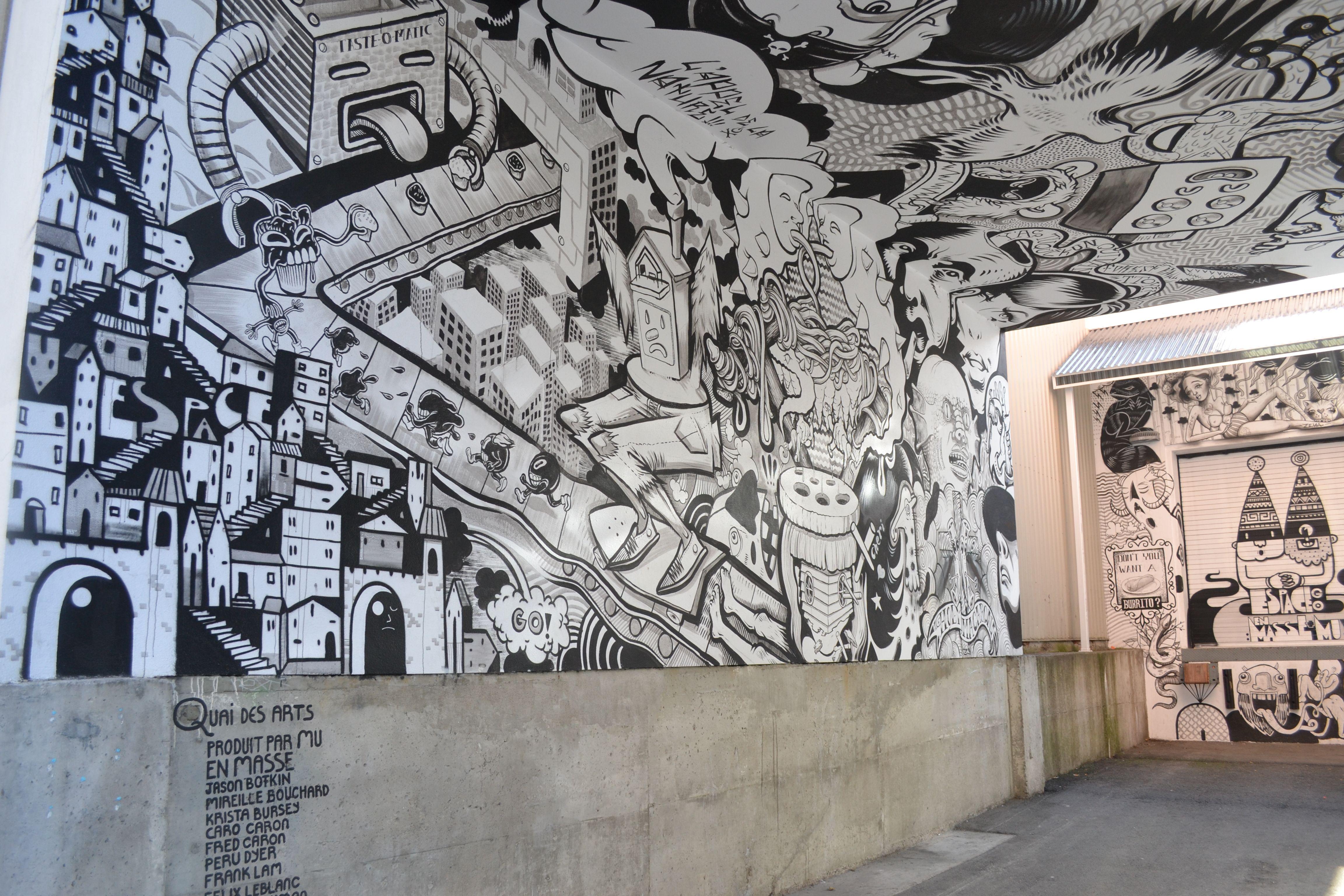 En masse street art street map pinterest