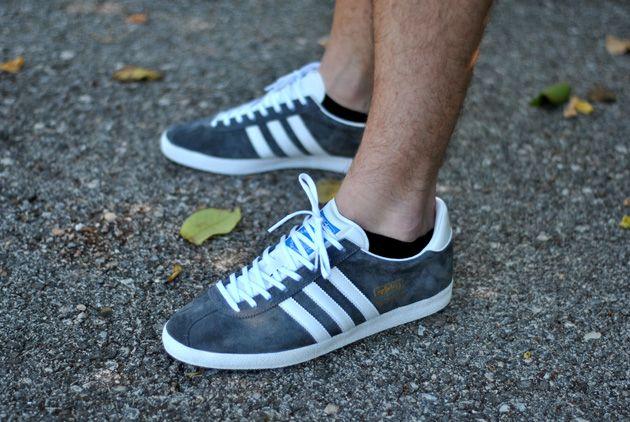 adidas gazelle gris bleu