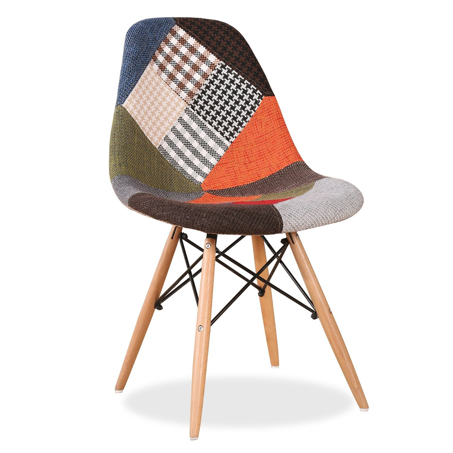 31d7aa552 WOODEN Chair -PATCHWORK Upholstery- | előszoba | Patchwork chair ...