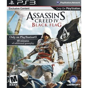 Assassin S Creed Iv Black Flag Wal Mart Exclusive Ps3