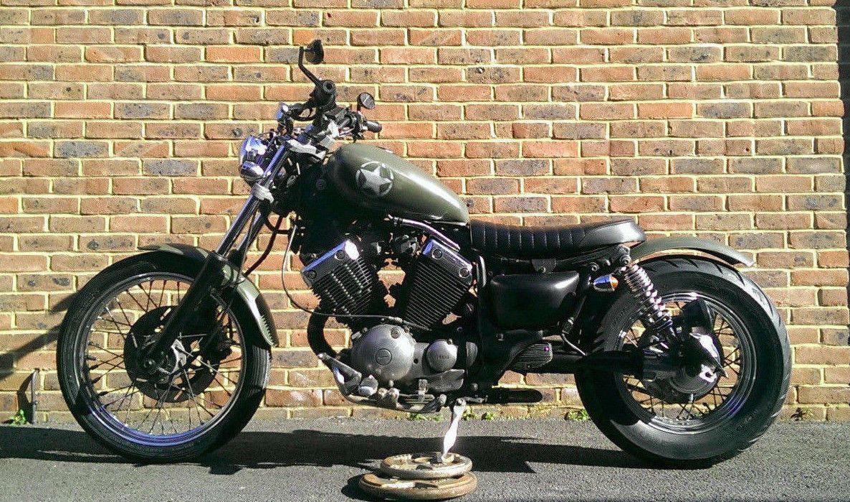 eBay: 400cc Yamaha Virago XV Custom rare Classic. Manual 5 gear petrol. 1
