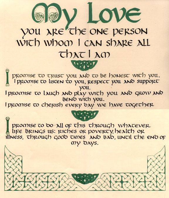 Hand Fasting Verse A Sweet Vow Writing Your Own Using