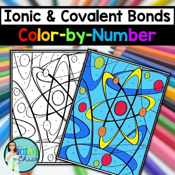 Ionic Vs Covalent Bonding Coloring Worksheet Covalent Bonding