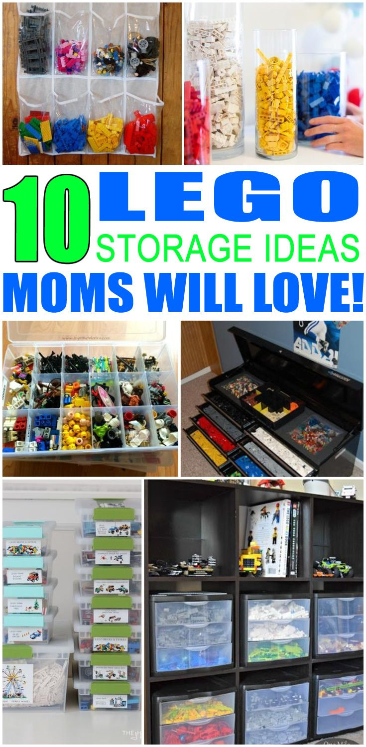 Lego Storage Organization | Storage   Organization   Hacks | Pinterest |  Storage Ideas, Organization And Storage Organization
