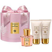 Buy Acqua Di Parma Rosa Nobile 50ml Eau de Parfum Gift Set Online at johnlewis.com