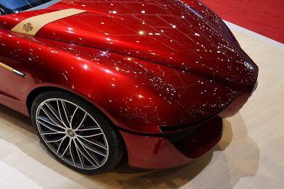 Alfa Romeo Gloria Concept http://modificationautomobile.blogspot.com/2013/03/ied-alfa-romeo-gloria-is-concept-for.html