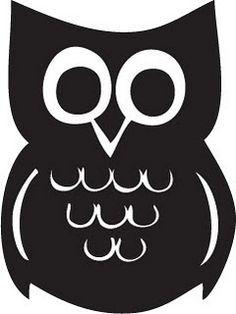 Owl Template  Szukaj W Google  Sowa    Owl Template