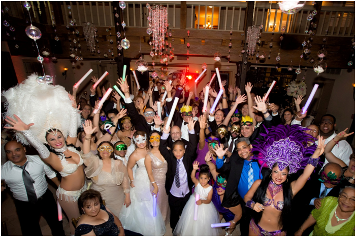 keep the party alive at your reception with la hora loca
