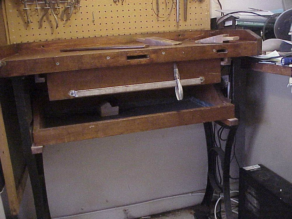 Antique Jewelers Bench   Bench