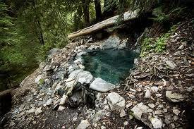 sykes hot springs - 100 degrees