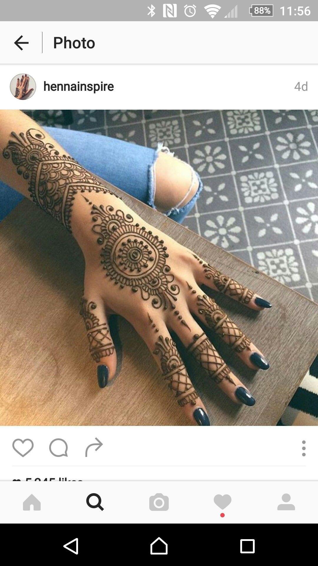 Waar Henna Tattoo Kopen: Wow.. Beautiful Back Hand Mehndi