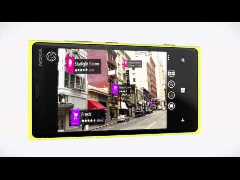 Introducing the Nokia Lumia 920